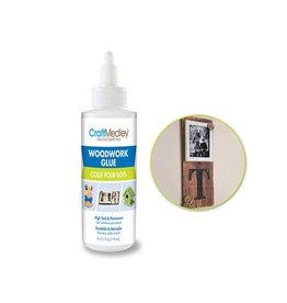 MultiCraft Craft Medley Glue: 4oz Woodwork Glue High Tack Sandable/Stainable