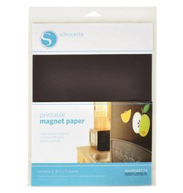 Silhouette Magnet Paper - Printable