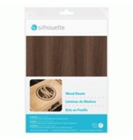 Silhouette Wood Sheets
