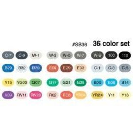 Copic Sketch Markers 36pc Set