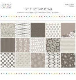 """12""""X12"""" 20/Pkg Natural, 15 Designs/5 Double-Side"""