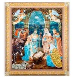 "Diamond Dotz Diamond Embroidery Facet Art Kit 37.25""X43.25"" Nativity Scene"