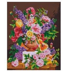 "Diamond Dotz Diamond Embroidery Facet Art Kit 24""X29.5"" Bouquet Ancien"