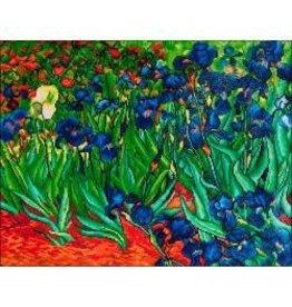 "Diamond Dotz Diamond Embroidery Facet Art Kit 25.25""X34.5"" Irises (Van Gogh)"