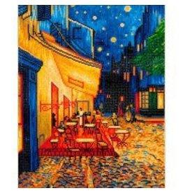 "Diamond Dotz Diamond Embroidery Facet Art Kit 23.5""X33.5"" Cafe At Night ( Van Gogh)"