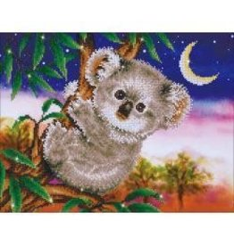 "Diamond Dotz Diamond Embroidery Facet Art Kit 22""X17.75"" Koala Snack"