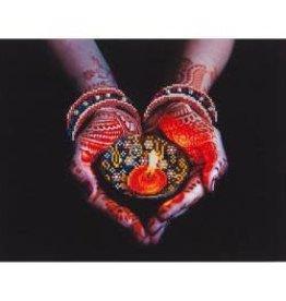 "Diamond Dotz Diamond Embroidery Facet Art Kit 21.75""X17.25"" Peaceful Offering"