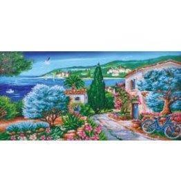 """Diamond Dotz Diamond Embroidery Facet Art Kit 42.5""""X22.75"""" La Provence"""