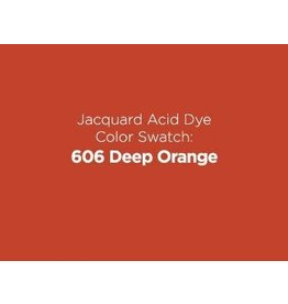 Jacquard Dyes Jacquard Acid Dye 1/2oz - Deep Orange