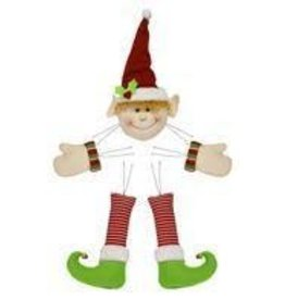 "Craig Bachman 5 Pc 28""H Elf Decor Kit"