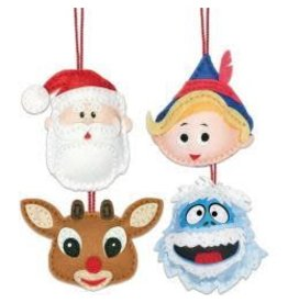 Vintage Rudolph Felt Kits