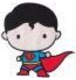 DC Comics Iron-On Applique Superman