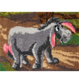 "Eeyore Latch Hook Kit 27""X20"""