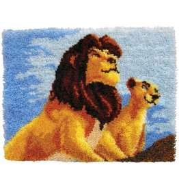 "The Lion King Latch Hook Kit 27""X20"""
