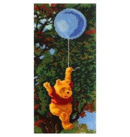 "Pooh Latch Hook Kit 17""X36"""