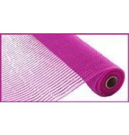 "Craig Bachman 10""X10yd Wide Foil Mesh Hot Pink W/Hot Pink Foil"