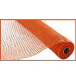 "Craig Bachman 10""X10yd Wide Foil Mesh Orange W/Orange Foil"