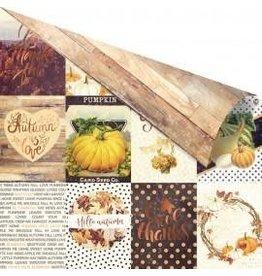 Treasuremart 12x12 Patterned Paper, Amber Moon