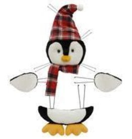 "Craig Bachman 4 Pc 20.5""H Penguin Decor Kit"