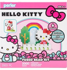 Hello Kitty Perler Fused Bead Kit