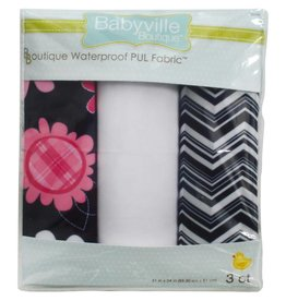 """Babyville Boutique Pul Fabric Packaged 21""""X24"""" Cuts Flowers"""