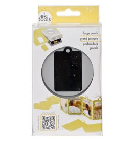 Large Punch Retail Tag