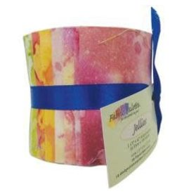 "Fabric Palette Jellies 2.5""X42"" 20/Pkg Long Road Batik"