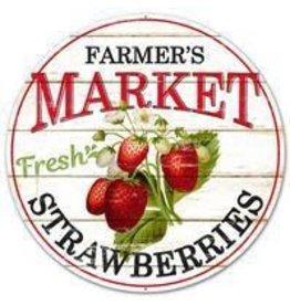 "Craig Bachman 12""DIA Farmer's Market Strawberries"