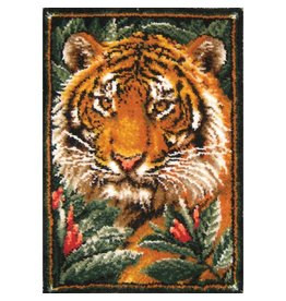 "Tiger Latch Hook Kit 27""X40"""