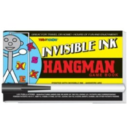 "Yes & Know Invisible Ink: Yes & Know Game Book ""Hangman"""
