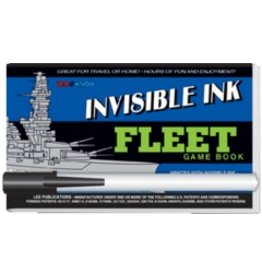 "Yes & Know Invisible Ink: Yes & Know Game Book ""Fleet"""