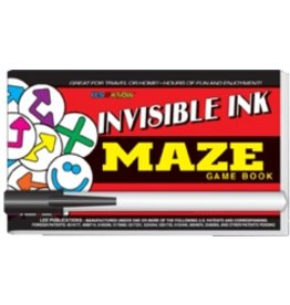 "Yes & Know Invisible Ink: Yes & Know Game Book ""Maze"""