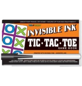 "Yes & Know Invisible Ink: Yes & Know Game Book ""Tic-Tac-Toe"""