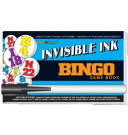 "Yes & Know Invisible Ink: Yes & Know Game Book ""Bingo"""