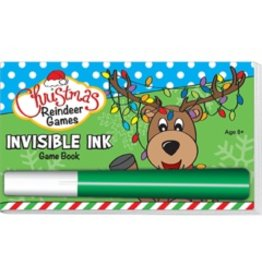 "Yes & Know Invisible Ink: Christmas Game Book ""Reindeer Games"""