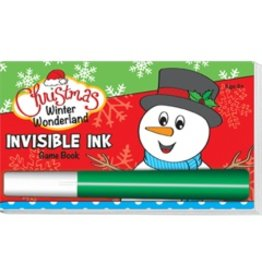 "Yes & Know Invisible Ink: Christmas Game Book ""Winter Wonderland"""