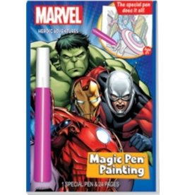 "Yes & Know Magic Pen Painting: Marvel Super Heroes ""Heroic Adventures"""