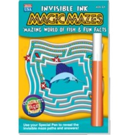 "Yes & Know Invisible Ink: Maze ""Mazing Fish"""