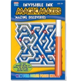 "Yes & Know Invisible Ink: Maze ""Mazing Discoveries"""