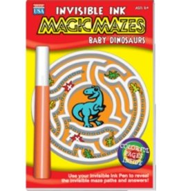 "Yes & Know Invisible Ink: Maze ""Baby Dinosaurs"""