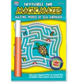 "Yes & Know Invisible Ink: Maze ""Mazing Sea Animals"""