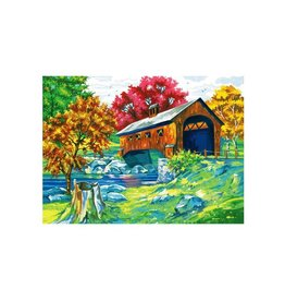 Reeves Covered  bridge Paint By Number