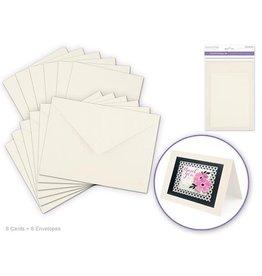 """MultiCraft 4.5""""x6"""" Cards + Envelopes 6sets"""