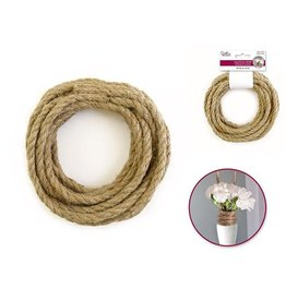 Nautical Rope Sisal Jute - A) 6mm x 4.5m