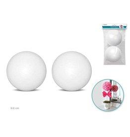 "Polyfoam Ball: 4"" 2/pk"