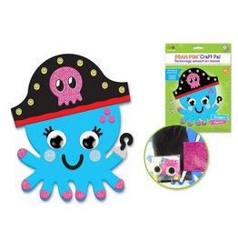 DIY Foam Friends Craft Kit Peel-n-Stick - Octopus
