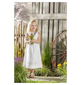 Bucilla Stamped Embroidery Pillowcase Dress Kit Size 3-8 Pretty Posies