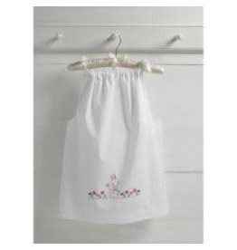 Bucilla Stamped For Embroidery Pillowcase Dress Kit Size 3-8 Bunny