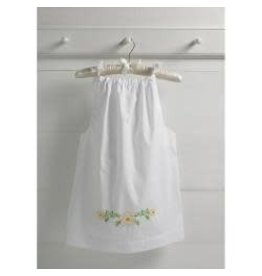 Bucilla Stamped Embroidery Pillowcase Dress Kit Size 3-8 Happy Flowers
