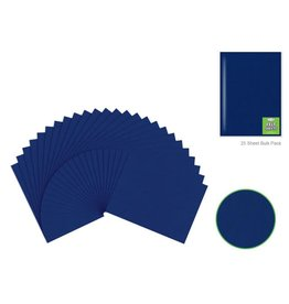 "Felt Sheets: 9""x12"" Premium Bar-Coded - Deep Blue"